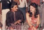 with Prema Narayan (Actress)