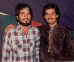 with shambha of film SHOLAY(Mac Mohan)